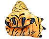 Тапочки тигровые лапки для пижам кигуруми