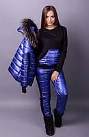 Лыжный костюм тройка Лакшери синий
