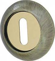 Накладка NORMAL PS-1AB/SG-6 бронза/мат.золото 2шт
