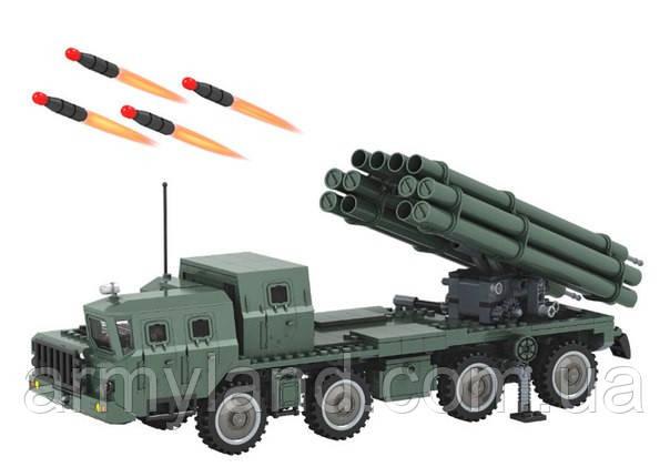 """РСЗО - БМ 30 """"Смерч"""" военный конструктор, фото 2"""