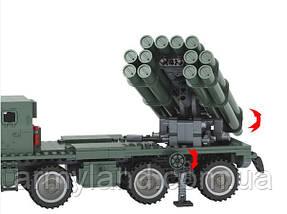 """РСЗО - БМ 30 """"Смерч"""" военный конструктор, фото 3"""