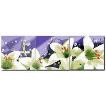 Триптих белые лилии