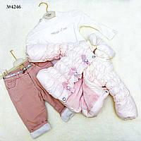 Комплект одежды для девочек(4246)