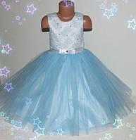 ПЕРВЫЙ прокат. Детское нарядное платье 3-7 лет Снежинка, Метелица, Зима
