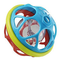 Мягкий мяч-погремушка Жирафа Софи - Vulli
