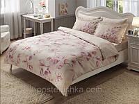 Комплект постельного белья Tac Delux Magnolia розовый