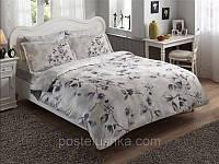Комплект постельного белья Tac Delux Magnolia серый