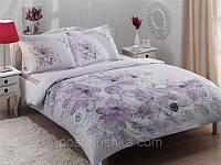 Комплект постельного белья Tac Saten  Linus лиловый