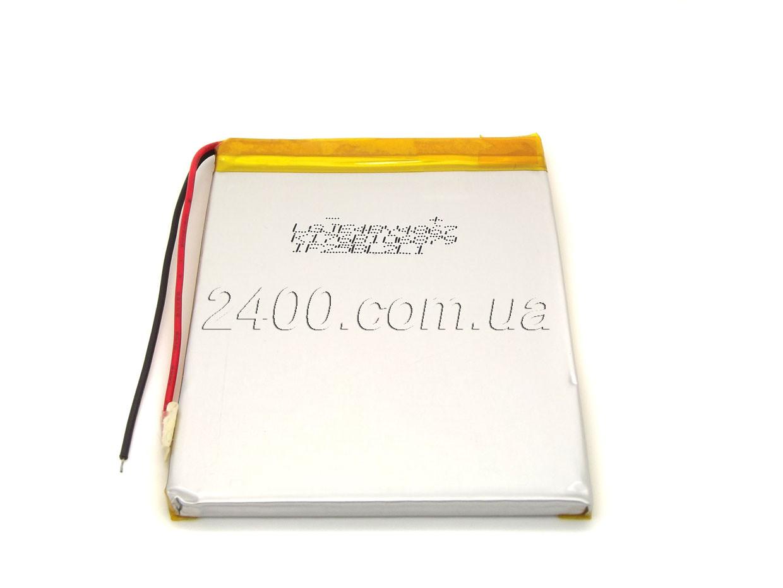 Аккумулятор 3800мАч 446690 мм 3,7в универсальный для планшетов Nomi, Prestigio, Bravis 3800mAh 3.7v, фото 1