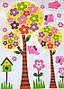 """3D наклейки на стену """"Весна"""" 50×70 см"""