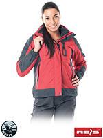 Куртка зимняя женская рабочая с отстегиваемой подстежкой Reis Польша (рабочая утепленная одежда) TREEFROG CS