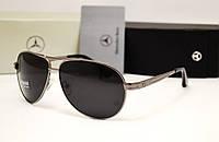 Мужские солнцезащитные очки Mercedes Benz 13018 серый цвет