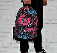 Яркий рюкзак. Принт №8. Кляксы. Отличное качество.