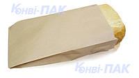Пакет для хлеба средний 350х220х50 (Бурый крафт)