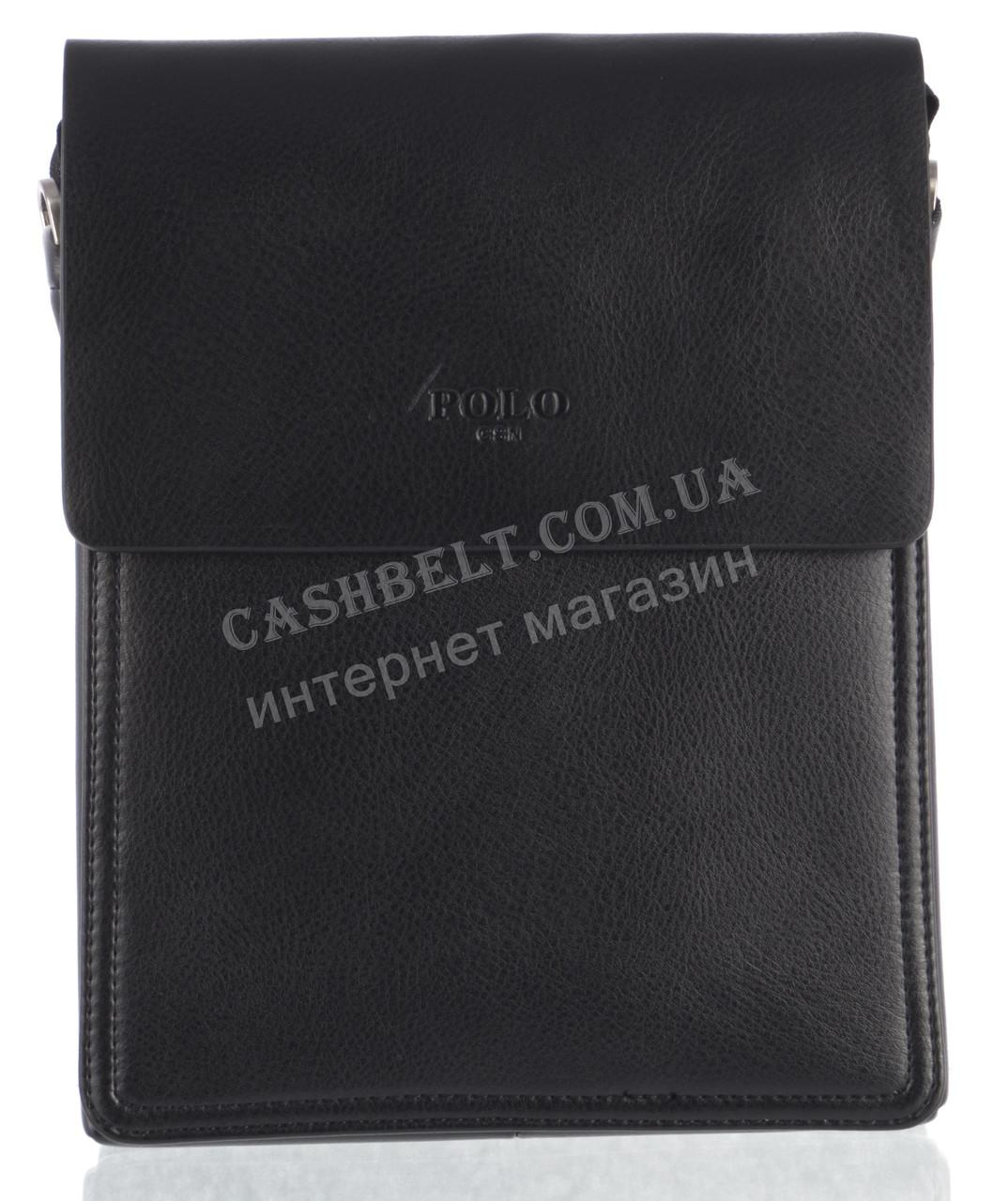 Удобная высококачественная мужская сумка POLO art. TP88840-2 черный