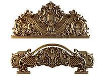 Резные части для деревянной кровати: изголовье, изножье