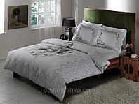 Комплект постельного белья Tac Delux Carol серый