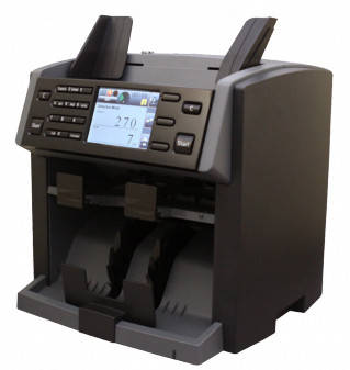 PRO NC 6500 Счетчик мини-сортировщик на 2 кармана, фото 2