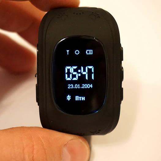 Smart baby watch Q50. Black. Оригинал