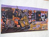 Летний бафф, buff, бесшовный шарф, бандана (#187)