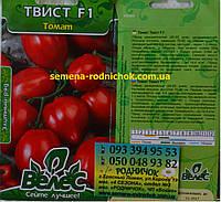 Высокоурожайный детерминантный ранний гибрид томата не имеющий зеленые пятна у плодоножки сорт Твист F1