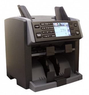 PRO NC 6100 Счетчик мини-сортировщик на 2 кармана