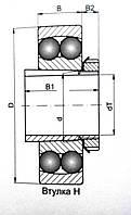 Подшипник 11216 (1218К+Н218)