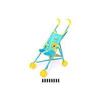 Коляска для кукол металлическая SO-6617ID (рисунок - герои мультфильмов)