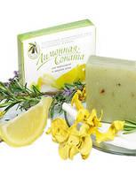 Лимонная Соната - мыло для нормальной и жирной кожи лица.