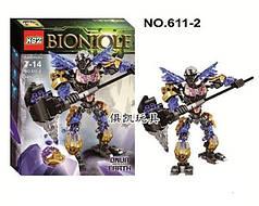 Конструктор KSZ Bionicle Бионика 611, Онуа - объединитель земли, 143 детали, аналог Lego Bionicle