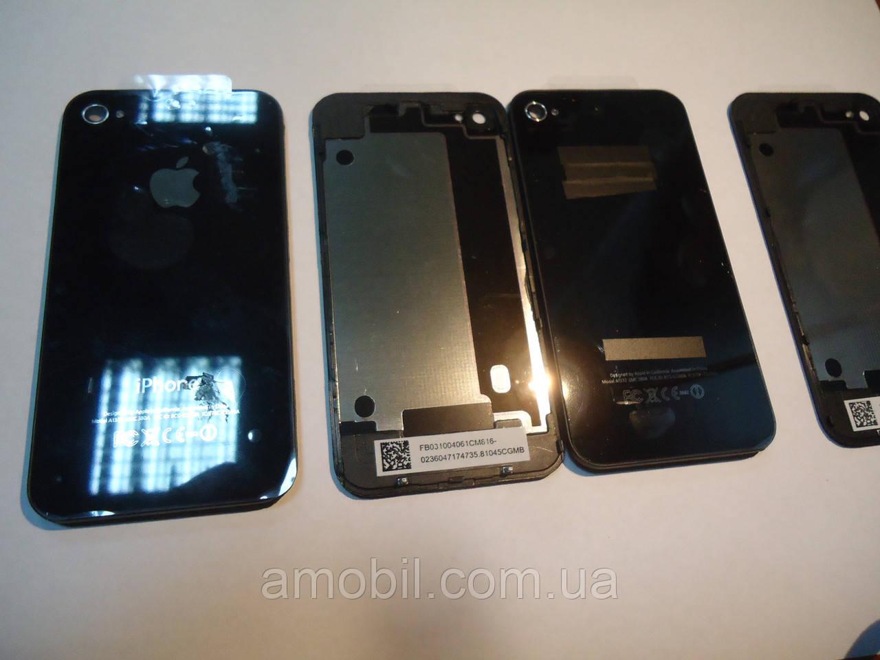 Задняя крышка Apple iPhone 4G Black