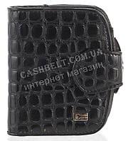 Стильный лаковый женский кожаный кошелек под рептилию высокого качества COZZNEE art. T906 301661 черный, фото 1