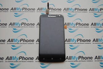Дисплейный модуль для мобильного телефона Lenovo S820 Black