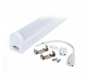 Светильник светодиодный интегрированный EV-IT-600-6400-13 T8 9Вт 6400K G13 220-240В матовый, фото 2