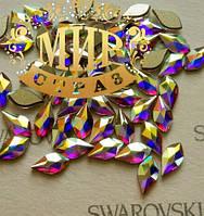 Декор swarovski Цвет Crystal AB Размер 8*4мм.Цена за 1шт