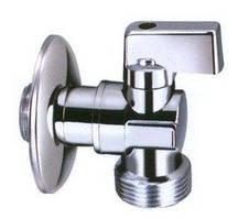 """Відсікаючий кульовий кран з металевою ручкою для змішувача, зливного бачка або пральної машини 1/2""""х1/2"""" INVENA"""