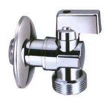 """Відсікаючий кульовий кран з металевою ручкою для змішувача, зливного бачка або пральної машини 1/2""""х3/4"""" INVENA"""