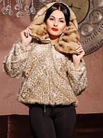 Норковая шуба женская Летучая мышь песочная, магазин шуб
