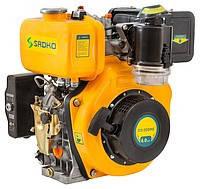 Двигатель дизельный Sadko DE-300ME шлицевой вал