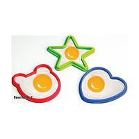 Cиликоновые формы для яичницы набор