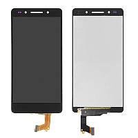 Дисплей (экран) для Huawei Honor 7 + с сенсором (тачскрином) Black