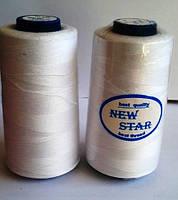 Нитка 40/2 ТМ NEW STAR №101 - белая