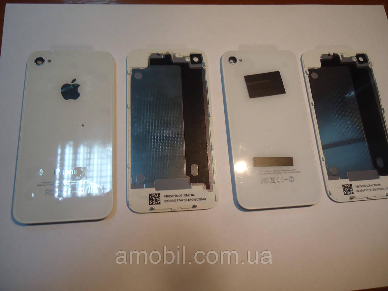 Задняя крышка Apple iPhone 4G White