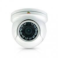 Уличная купольная AHD камера Partizan CDM-223S-IR HD v4.3 Metal, 1 Мп