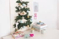Быстро, просто и креативно украшаем маленькое пространство к новогодним праздникам