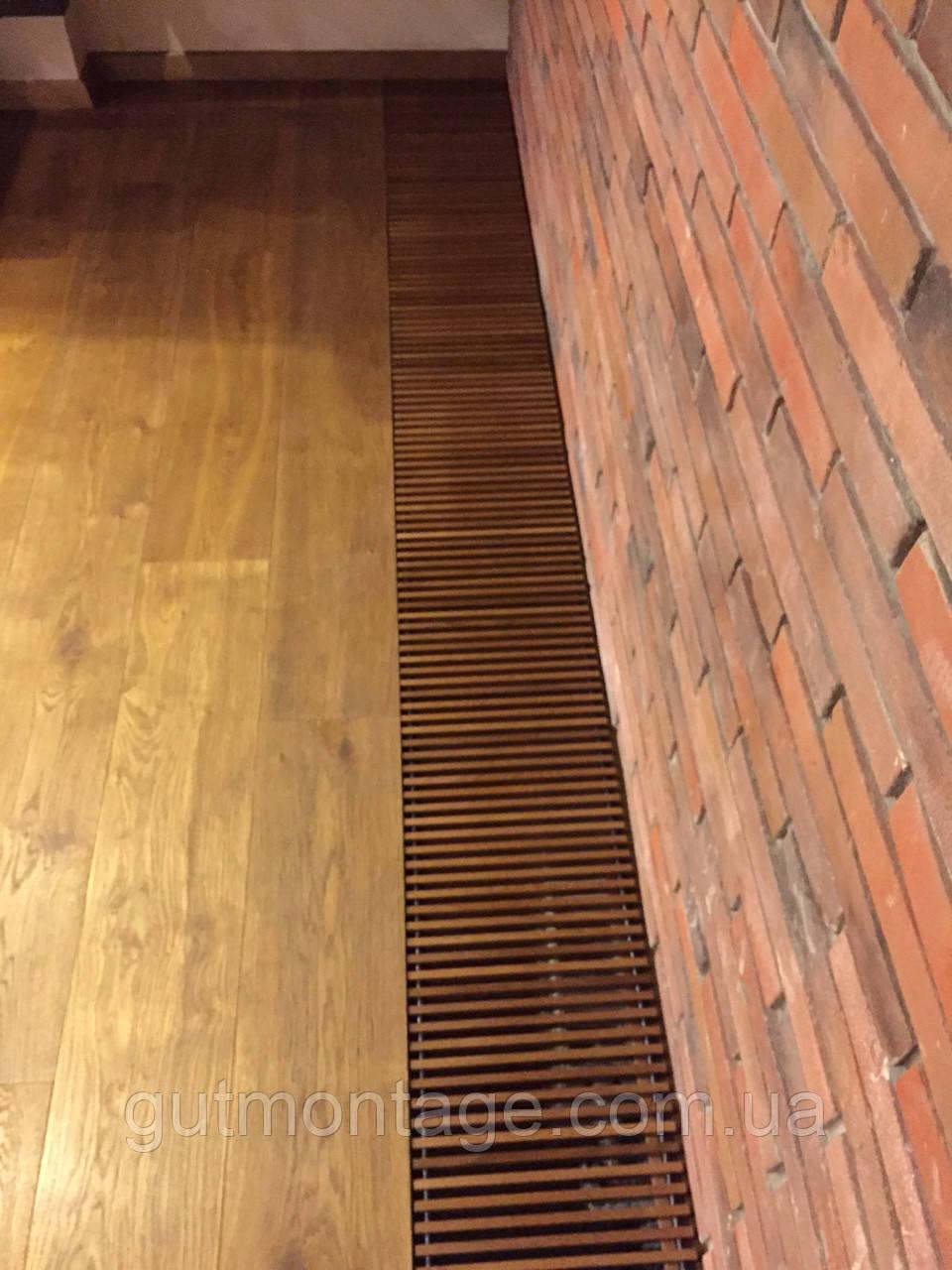 Решетка декоративная дубовая .240х1500