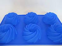 Силиконовая форма для кекса, 30*17,5*3 см., 100/90  (цена за 1 шт. + 10 гр.), фото 1