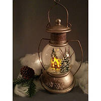 Снежный шар Керосиновая лампа