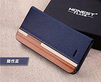 Чехол для Homtom HT3 / HT3 Pro Книжка Redline синий
