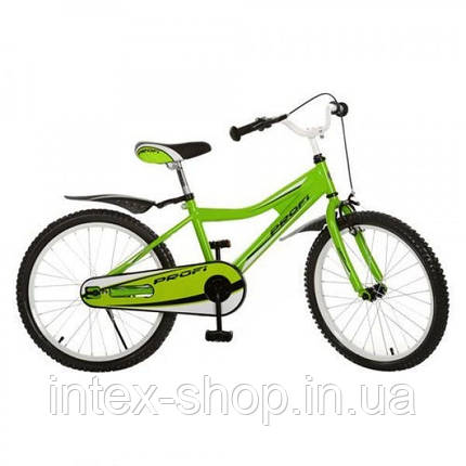 Детский велосипед двухколесный 20BA494-3 зеленый 20 диаметр , фото 2